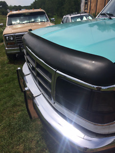 1992-1996 f150 bug  guard and rear sliding window