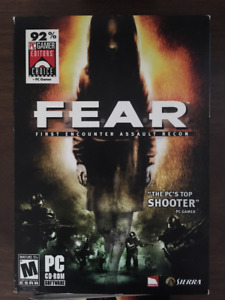 FEAR (First Encounter Assault Recon) PC CD-Rom