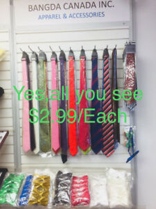 $2.99 Wholesale Mens Youth Wedding Party Ties Bow Ties