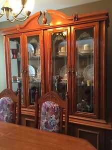 Table & China cabinet for sale