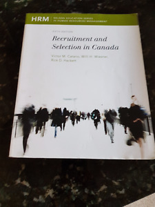 Recruitment and Selection In Canada-Ryerson