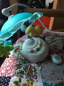 Fisherprice Planet Pals Projector Baby Mobile