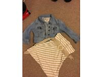 Jacket and dress, both size 10