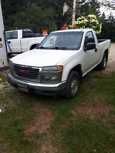2008 GMC Canyon Pickup Truck & Spare Engine Tranny CPU etc.