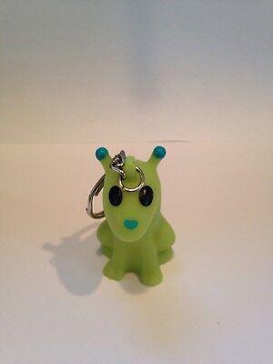 American Heart Association Martia Mutley Key Chain Ring Dog Keychain Alien