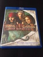 Pirates of the Caribbean Dead Mans Chest BLURAY