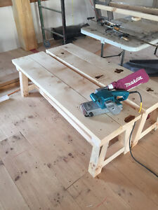 hand crafted softwood tables Stratford Kitchener Area image 10