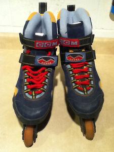 Women's CCM Sienna ABEC 3 Rollerblades Size 10 London Ontario image 4