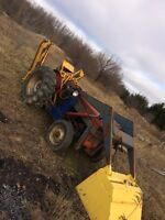 Tree spade and tractor for sale