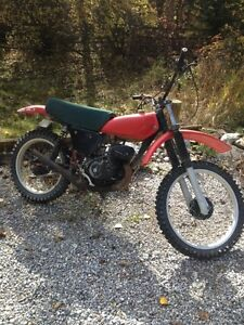 Honda MR 175 dirt bike
