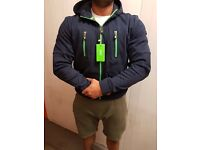 Hugo Boss AMAZING zip hoody ALL SIZES moncler true religion