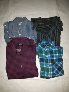 Chemises enfant taille 14 ans / kid shirts size 14 yrs