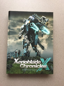 Guide Xenoblade Chronicles X Wii U collector édition.