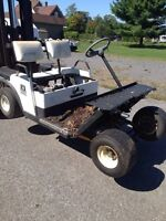 Early 90's Ezgo gas golf cart for parts!