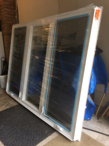 Brand new big casement Window, custom ordered