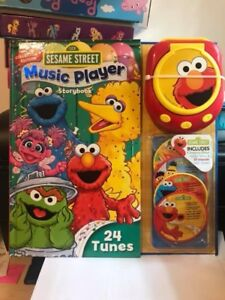 Sesame Street Music Player Storybook: Collector's Edition - NEW