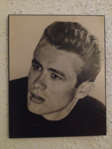 James Dean pictures/ poster/ license plate