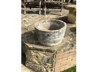 Vintage stone/concrete Tub