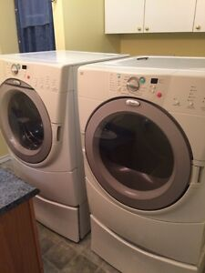 Whirlpool front load washer and dryer for sale