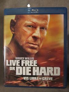 Live Free or Die Hard Blu-Ray
