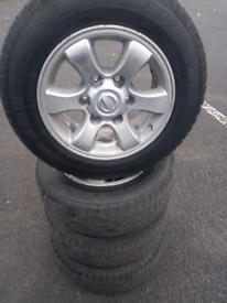 For sale Toyota Hiace alloy wheels