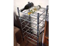IKEA 'Omar' wine rack