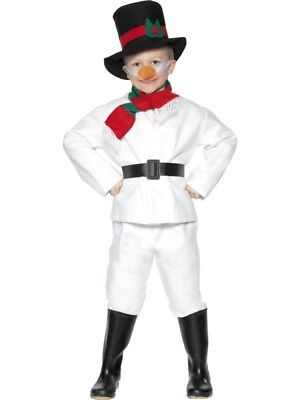 NDER Schneemann Kostüm (Schneemann Kostüm Kind)