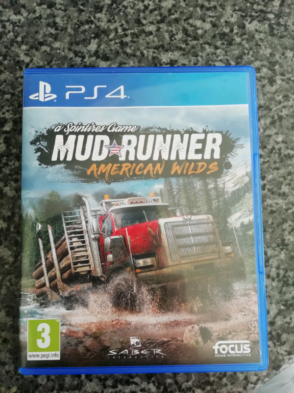 Mud runner American wilds PS4 simulation game | in Houghton Le Spring, Tyne  and Wear | Gumtree