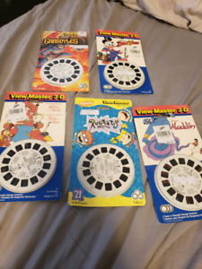 90's brand new reels for view master 20 each