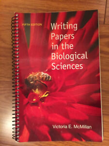 writing papers in the biological sciences 5th edition online book
