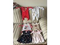 Newborn bundle girls clothes