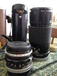 Vintage Canon FX Camera Collection with Custom Leather Bag Cambridge Kitchener Area image 3