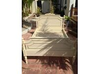 Shabby Chic Double Bed Frame