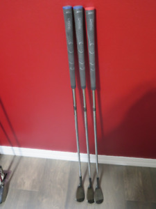 Golf clubs - snake eye wedge set