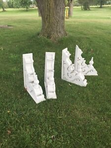 White Painted Corbels London Ontario image 1