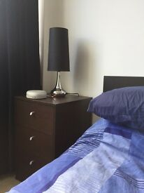 SOLD: Reduced: Bedside Table Ikea , BARGAIN!