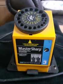Master Sharp high speed drill sharpener