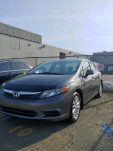 2012 Honda Civic EX fresh MVI