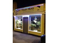Busy barbershop for sale-business for sale
