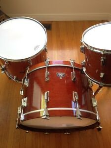 Late 70s Pearl Maple Shell drum kit