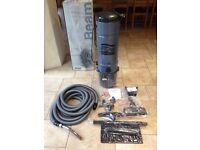 Beam vacuum system