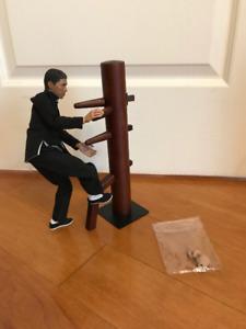Ip Man 3 Custom Figure with Wooden Dummy