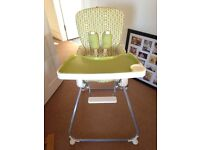 Mamas and Papas foldable high chair