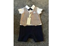 Boys 0-3 mothercare suit