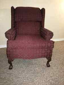 Brand new wing chair for sale!
