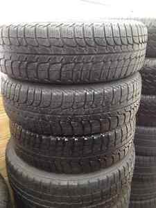 Set of 3 Michelin winter tires 175//65/15
