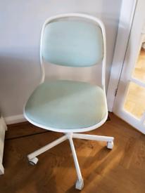Ikea desk office swivel chair