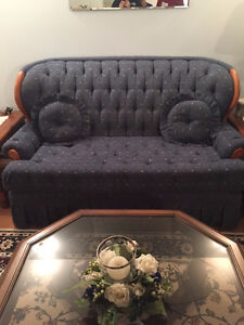 Blue Loveseat - For Sale