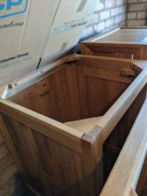 Oak furniture land triple wardrobe