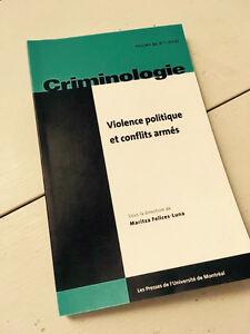 Violence politique et conflits armés, M. Felices Luna (2012)